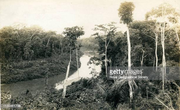 Aquery at Bahia Bolivia 1907 Artist Percy Harrison Fawcett