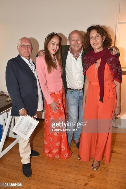 "Ara Arslanian, Lucia Hwong Gordon, Christophe von Hohenberg and Jacqueline Schnabel attend the release of Christophe von Hohenberg's new book ""The..."