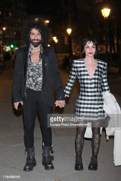 Ara Malikian and Natalia Moreno arrive to the Goya Cinema Awards 2020 Dinner Party on December 16 2019 in Madrid Spain