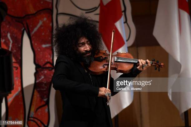 Ara Malikian attends The Commemorative Act Of The World Red Cross Day on May 07 2019 in Zaragoza Spain
