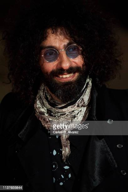Ara Malikian attends the 'Retrospeciva' award ceremony during the 22th Malaga Film Festival on March 22 2019 in Malaga Spain