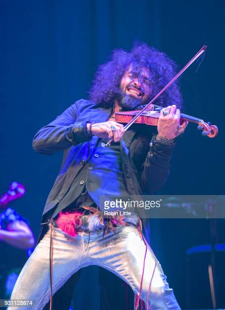 Ara Malikian performs at The Barbican Centre on March 12 2018 in London England