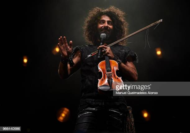 Ara Malikian performs in concert at Auditorio Marina Norte on June 2 2018 in Valencia Spain