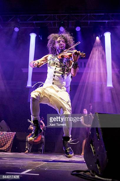 Ara Malikian performs in concert during Festival Jardins de Pedralbes on June 30 2016 in Barcelona Spain