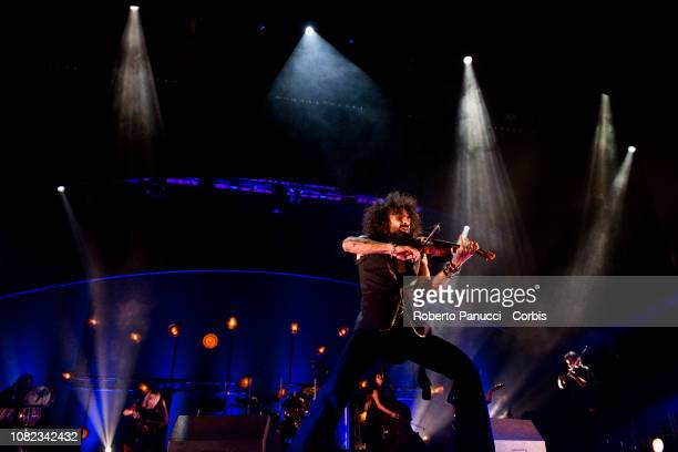 Ara Malikian performs onstage on December 13 2018 in Rome Italy