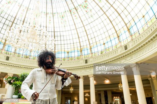 Ara Malikian poses for a portrait session on May 13 2019 in Madrid Spain