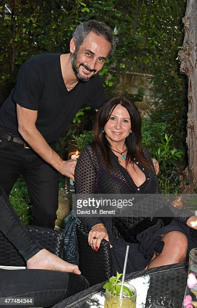Ara Vartanian and Fran Cutler attend a cocktail reception to preview Ara Vartanian's Unique Jewellery Collection which they hosted together on June...