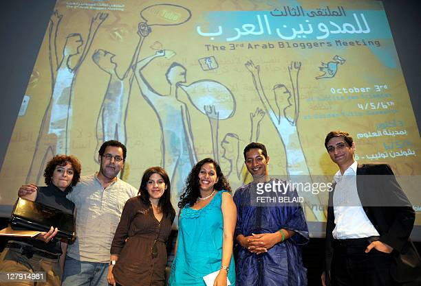 Arab bloggers Syrian blogger and social media strategist Leila Nachwati Morocco blogger and free speech advocate Hisham AlMiraat Tunisia's blogger...