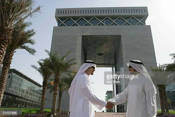 Arab Businessmen shaking hands