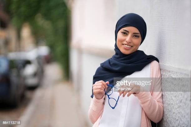 Arab Girl In Europe
