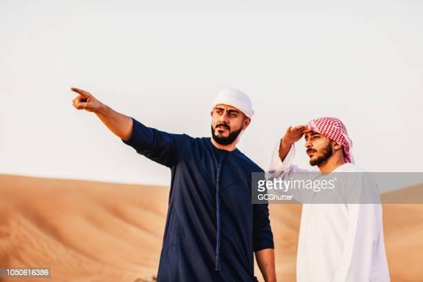Arab man discussing their future plans