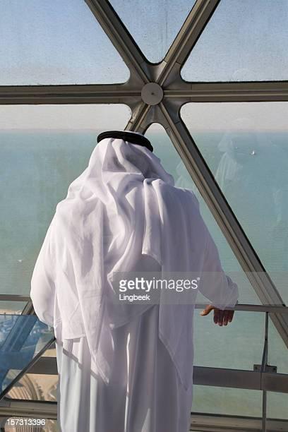 Arab man in Kuwait Towers