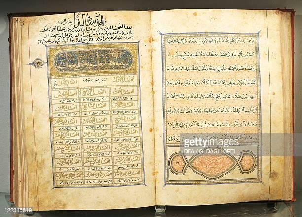 Arab manuscript Coptic Period 14th century The Gospels written in Arabic
