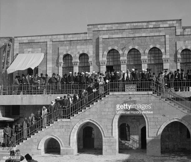 Arab ProtestsDemonstrations Strikes 1929
