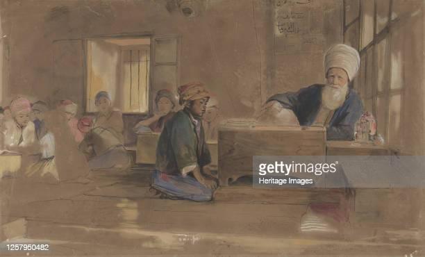Arab School, 1841-51. Artist John Frederick Lewis.