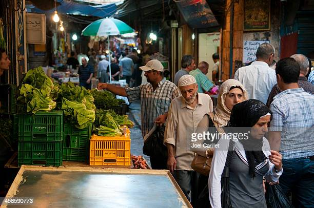 arab souk in tripoli, lebanon - lebanese ethnicity stock photos and pictures