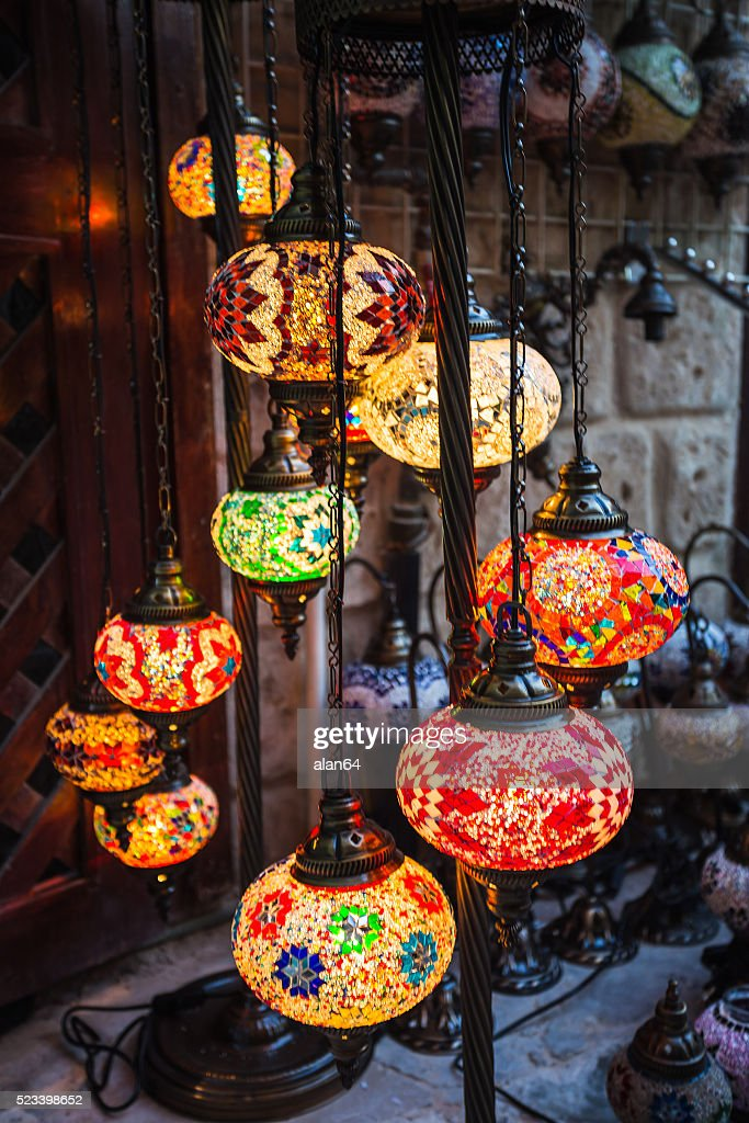 Arab Street Lanterns In The City Of Dubai Stock Photo - Getty Images