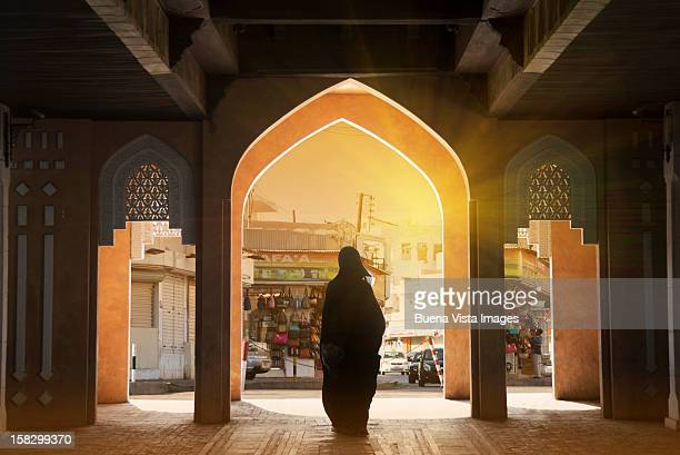 Arab woman in a Souk