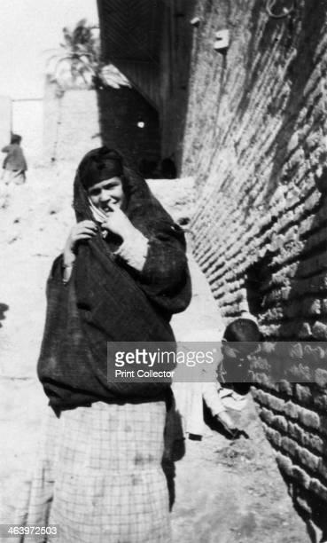 Arab woman Iraq 19171919
