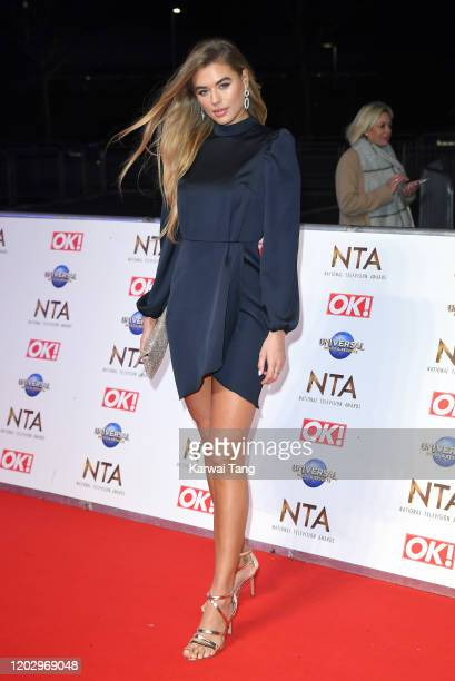 Arabella Chi attends the National Television Awards 2020 at The O2 Arena on January 28 2020 in London England