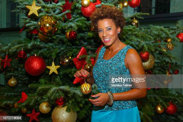 Arabella Kiesbauer attends the Energy for Life Christmas gala for Children at Hofburg Vienna on December 12 2018 in Vienna Austria
