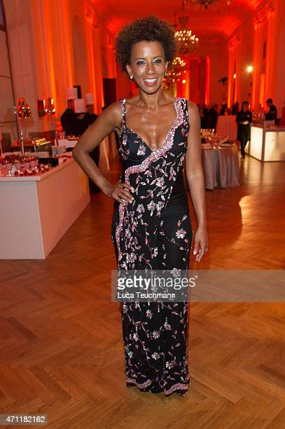Arabella Kiesbauer attends the ROMY Award 2015 on April 25 2015 in Vienna Austria