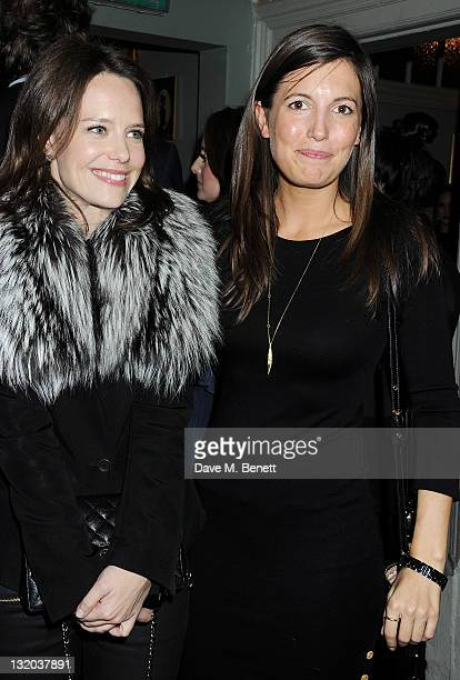Arabella Musgrave and Amanda Sheppard attend the Alice Olivia Black Tie Carnival hosted by designer Stacey Bendet at Paradise by Way of Kensal Green...