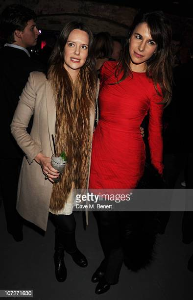 Arabella Musgrave and Caroline Sieber attend the opening party for the new nightclub 'Public' on December 2 2010 in London England
