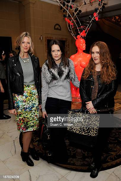 Arabella Musgrave and Guests attend day one of themiumiulondon a temporary women's club at Cafe Royal on November 27 2012 in London England