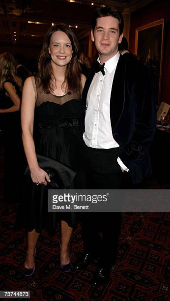 Arabella Musgrave and James Tollemache attend the Quintessentially Diner des Tsars gala evening in aid of UNICEF at the Guildhall on March 29 2007 in...