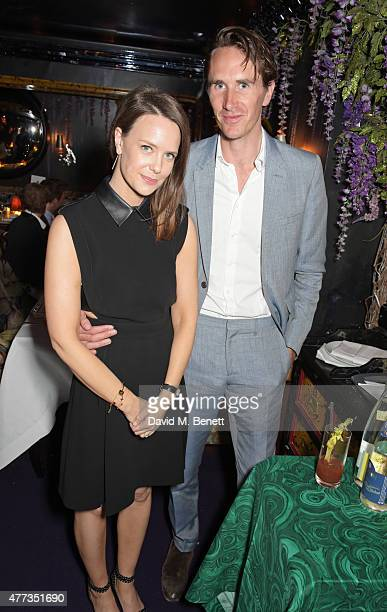 Arabella Musgrave and Otis Ferry attend the Walkabout Foundation Event hosted by Dee Ocleppo And Tommy Hilfiger at Loulou's at 5 Hertford Street on...
