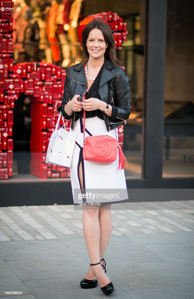 Arabella Musgrave attends private event to celebrate J.Crew And Central Saint Martins partnership at J.Crew on May 22, 2013 in London, England.