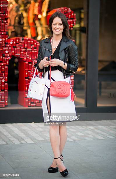 Arabella Musgrave attends private event to celebrate JCrew And Central Saint Martins partnership at JCrew on May 22 2013 in London England