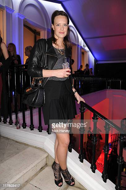 Arabella Musgrave attends the Emporio Armani Summer Garden Live in association with Sony at Emporio Armani on June 30 2011 in London England