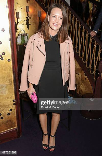 Arabella Musgrave attends the Walkabout Foundation Event hosted by Dee Ocleppo And Tommy Hilfiger at Loulou's on June 16 2015 in London England