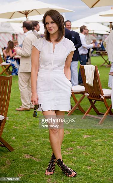 Arabella Musgrave in Gucci attends the Cartier International Polo Day at Guards Polo Club on July 25 2010 in Egham England