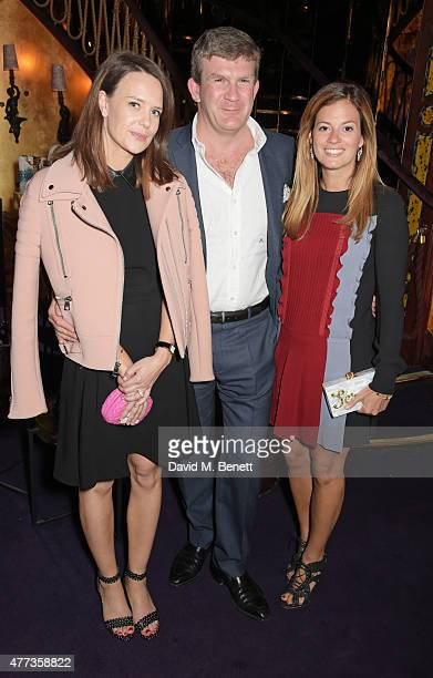 Arabella Musgrave Peregrine Hood and Serena Hood attend the Walkabout Foundation Event hosted by Dee Ocleppo And Tommy Hilfiger at Loulou's on June...