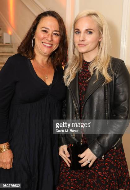 Arabella Weir and Georgia Tennant attend the mothers2mothers Midsummer Soiree at One Belgravia on June 21 2018 in London England