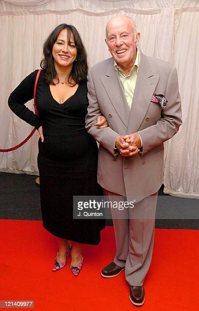 Arabella Weir and Richard Wilson during ITV's 'Hell's Kitchen' Arrivals at Brick Lane in London Great Britain