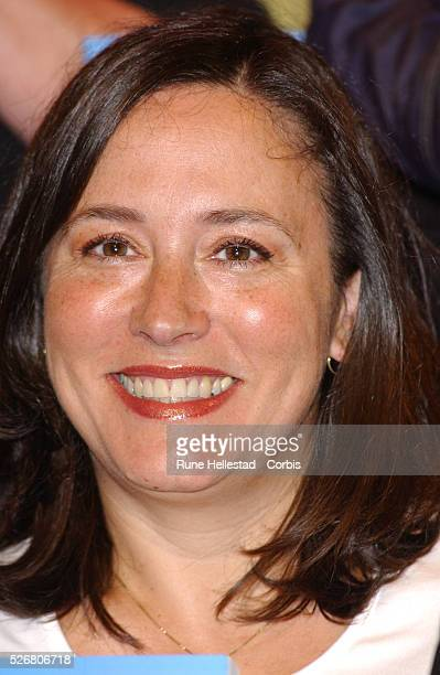 Arabella Weir at the Magic Circle for the launch of 'Magic' a collection of stories edited by Sarah Brown with a foreword written by JK Rowling