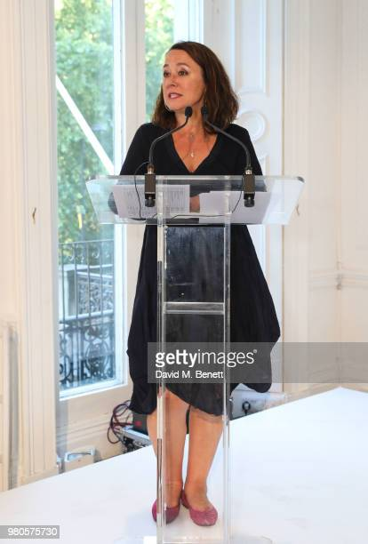 Arabella Weir hosts the mothers2mothers Midsummer Soiree at One Belgravia on June 21 2018 in London England