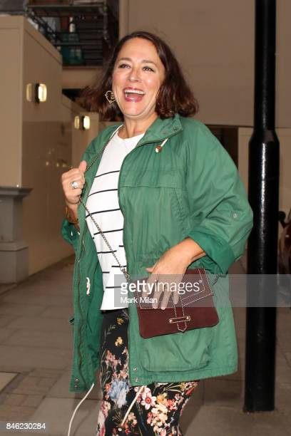 Arabella Weir sighting on September 12 2017 in London England