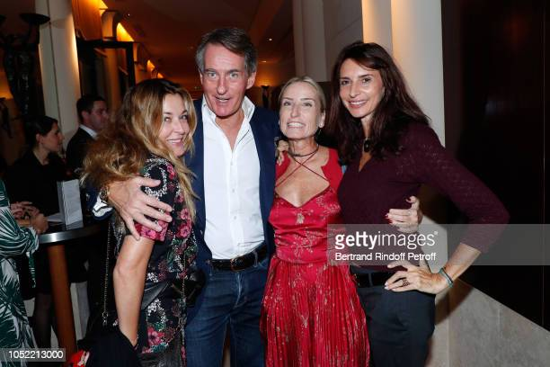 Arabelle Mahdavi Tim Jefferies Paola d'Assche and Valerie Bernard attend the 'Vive La Mode' Exhibition Preview Unpublished exhibition of photographic...