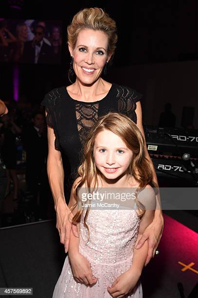 Arabelle of Children's National Health System and guest attend Angel Ball 2014 hosted by Gabrielle's Angel Foundation at Cipriani Wall Street on...