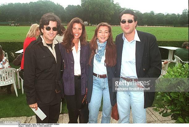 Arabelle Reille Fiance Bagatelle Khashayar Mahdavi at theCartier Paris Open De Polo Event