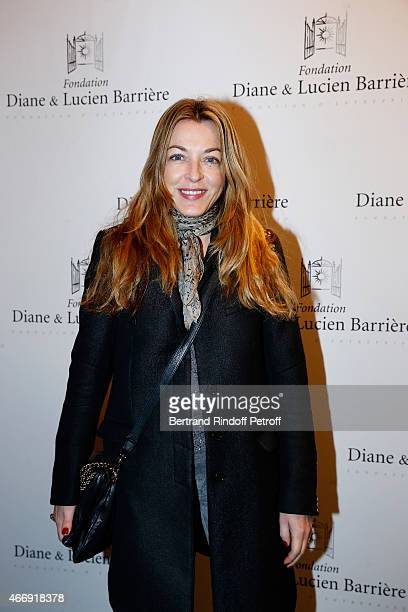 Arabelle ReilleMahdavi attends movie 'Les Chateaux de Sable' receives Cinema Award 2015 of Foundation Diane Lucien Barriere during the premiere of...