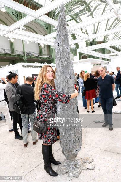Arabelle ReilleMahdavi attends the FIAC 2018 International Contemporary Art Fair Press Preview at Grand Palais on October 17 2018 in Paris France