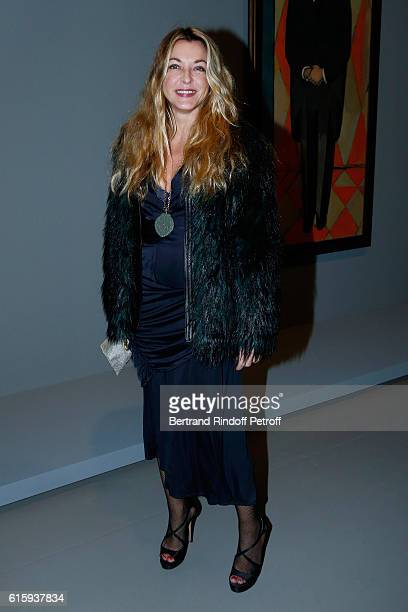 Arabelle ReilleMahdavi attends the 'Icones de l'Art Moderne La Collection Chtchoukine' Cocktail at Fondation Louis Vuitton on October 20 2016 in...