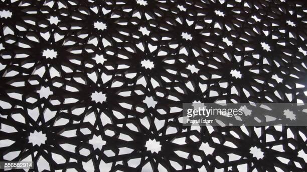 arabesque decoration - moroccan & arabic style - アラベスクポジション ストックフォトと画像