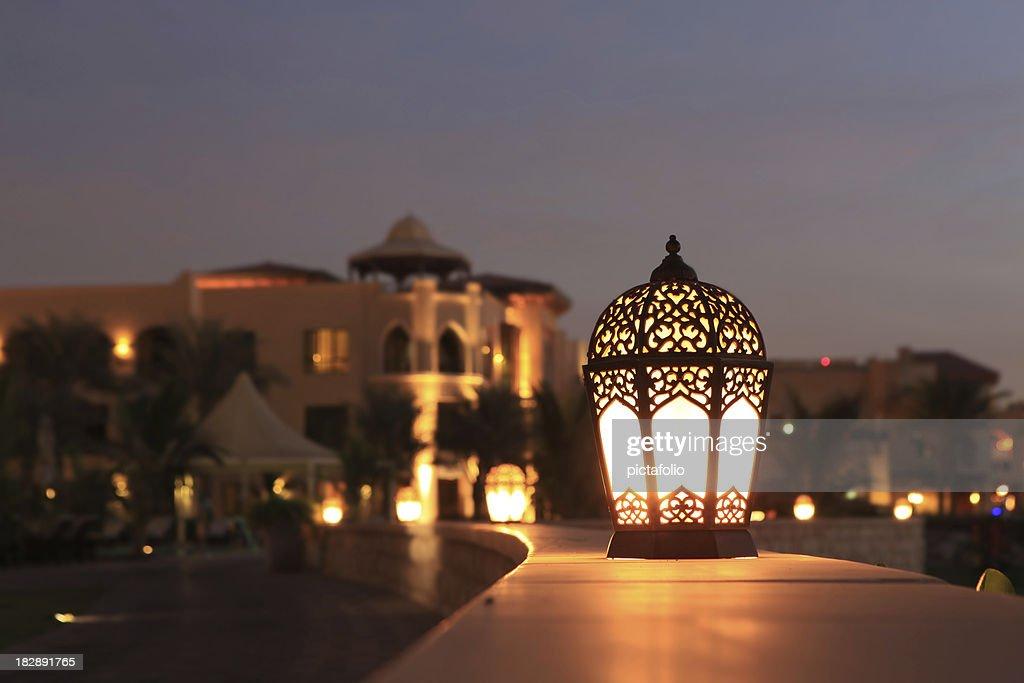 Arabesque lantern : Stock Photo
